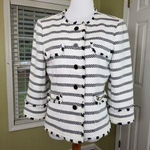 White house black market blazer coat